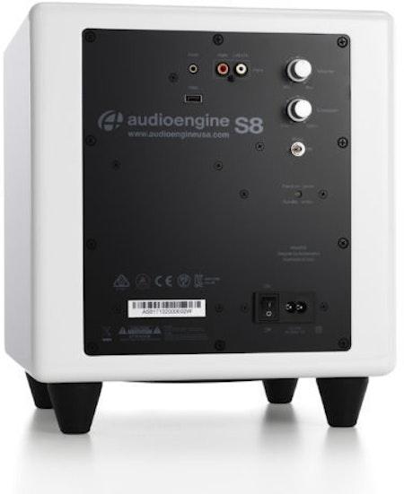 Audioengine S8 Subwoofer - White