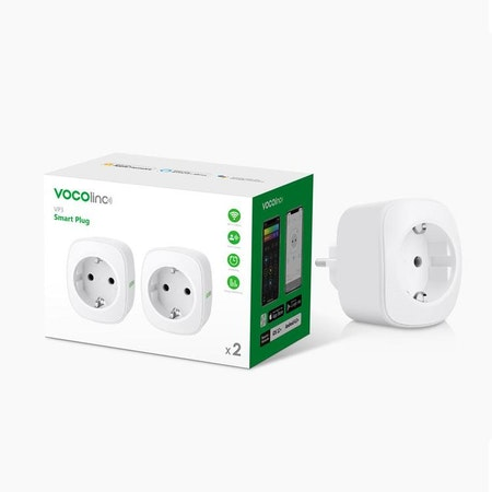 VOCOlinc Smart Power Plug Wi-FI, 2-pack