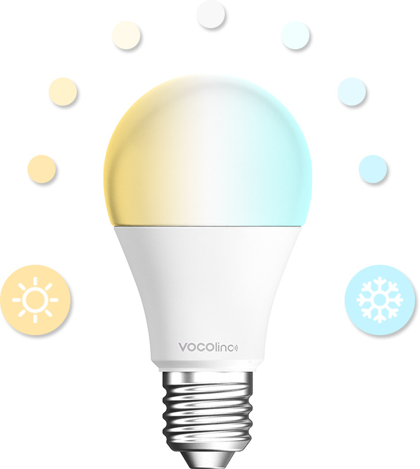 VOCOlinc White E27 LED bulb