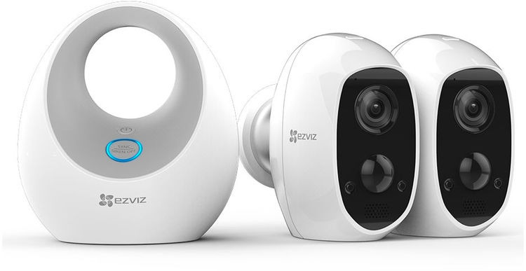 EZVIZ W2D + 2xC3A Battery Cam