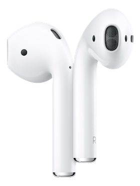Apple AirPods (2nd Generation) med laddningsetui