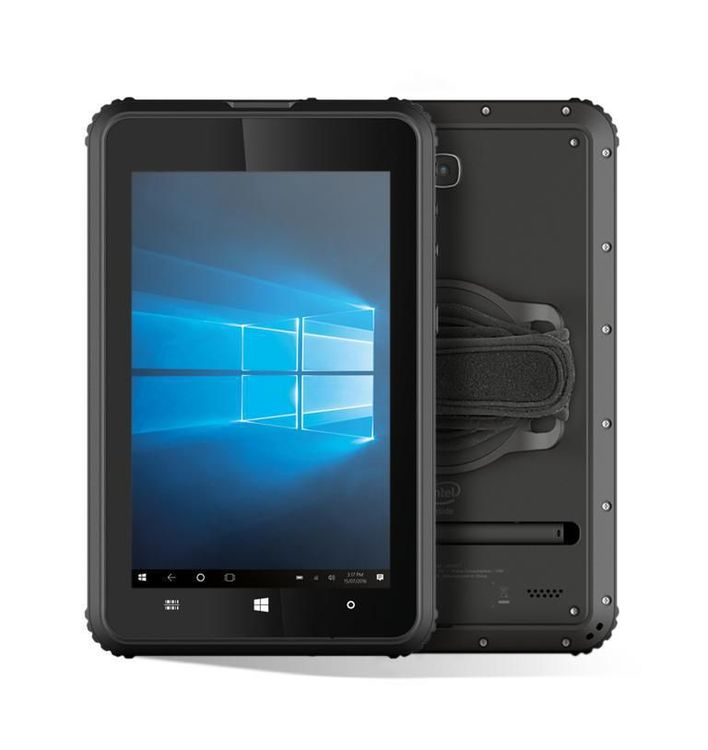 "Newland NQUIRE800 II PLUS Rugged 8"" IP67 Windows 10 Tablet 4GB/64GB, WIFI - 3G - BT - GPS - 2D CMOS engine"