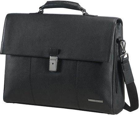 "Samsonite Equinox Briefcase 2 Gussets 15,6"""