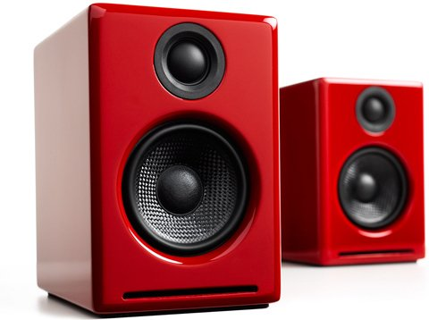 Audioengine A2+BT Red