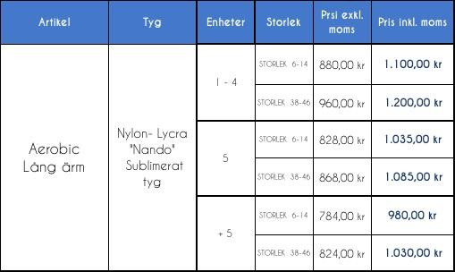8RSAD1.- Aerobic /RG / Konståkning  tävlingsdräkt