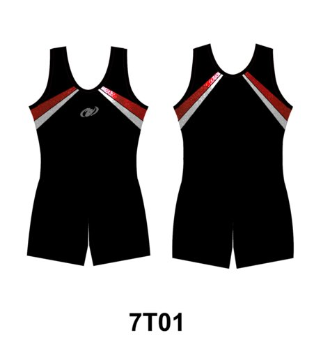 HG Kortärmad pojkdräkt (Truppgymnastik) - 7TO1