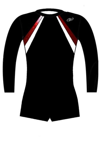 HG Långärmad pojkdräkt (Truppgymnastik) - 7TO1C
