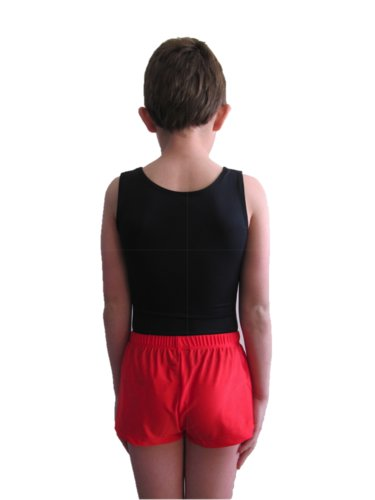 Röd HERR träning/tävlings shorts: 7001674