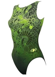 Vintage green- Gymnastikdräkt
