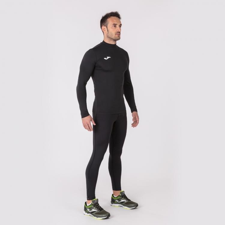 Svart Tränings/tävlingströja med lång ärm