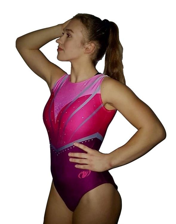 Diana Rosa-Gymnastikdräkt