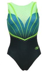 Diana Green-Gymnastikdräkt