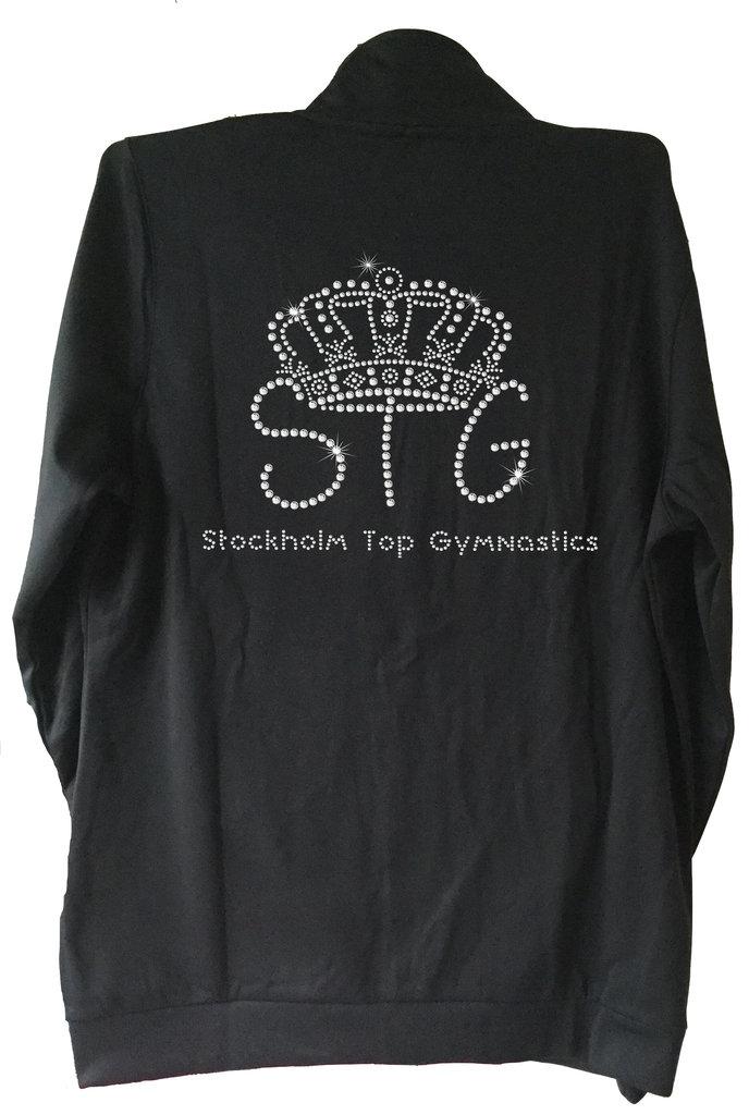 STG Tröja med en klubbmärke i kristaller