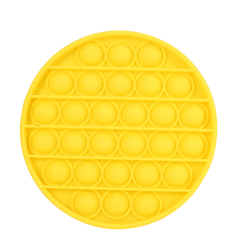 2-pack Pop It Fidget Toy Rund CE Godkänd