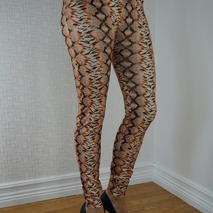 Snake Leggings Fynd