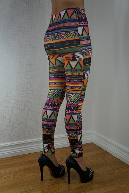 Mönstrade leggings