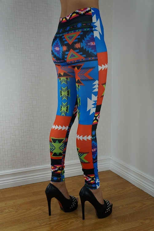 Mönstrade Leggings
