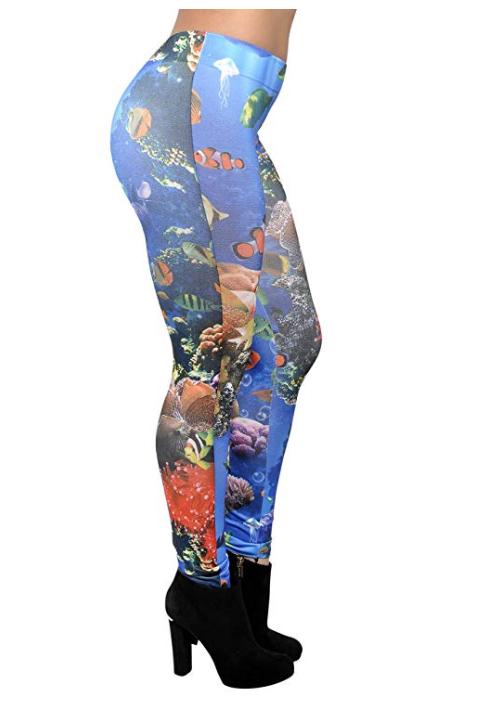 Akvarium Leggings