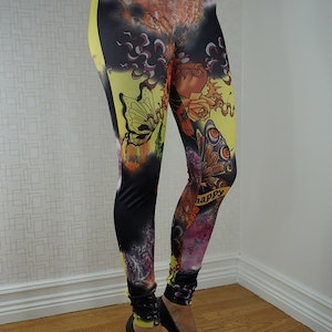 Happy tattoo leggings Fynd