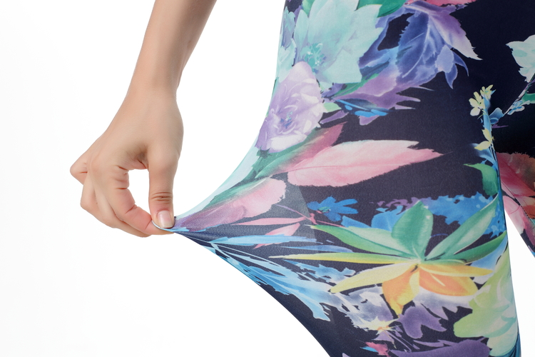 Blommiga Leggings