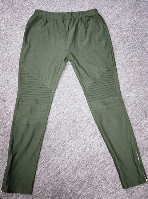 Arme Green Leggings med fickor fram