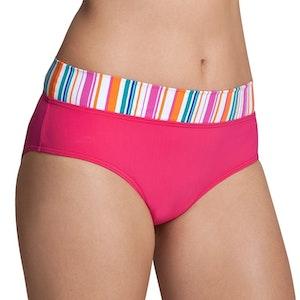 Bikini trosa i Sloggis smultronfärg