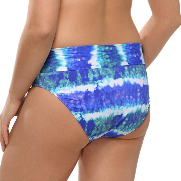 Saltabad bikinitrosa blå
