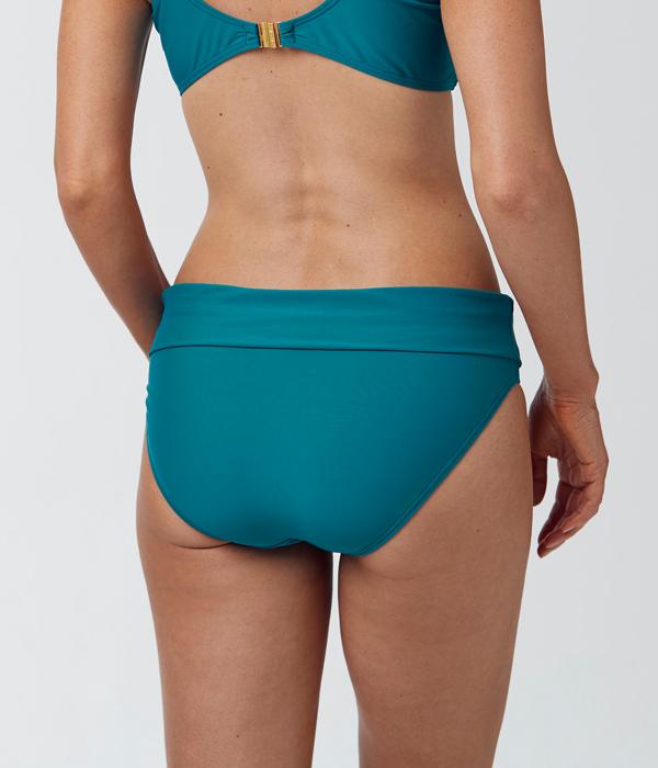 Abecita Enfärgad bikinitrosa med vikbar kant