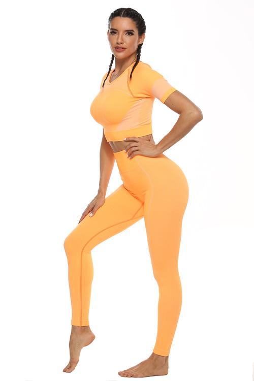 Yoga Leggings Orange