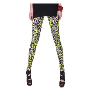 Yellow Fluorescent Leggings