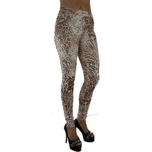 Leopard leggings Fynd