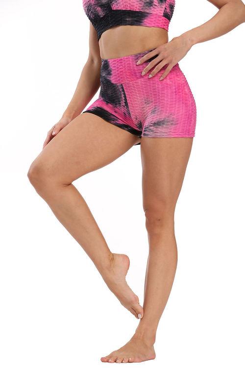 Svart Rosa Shorts