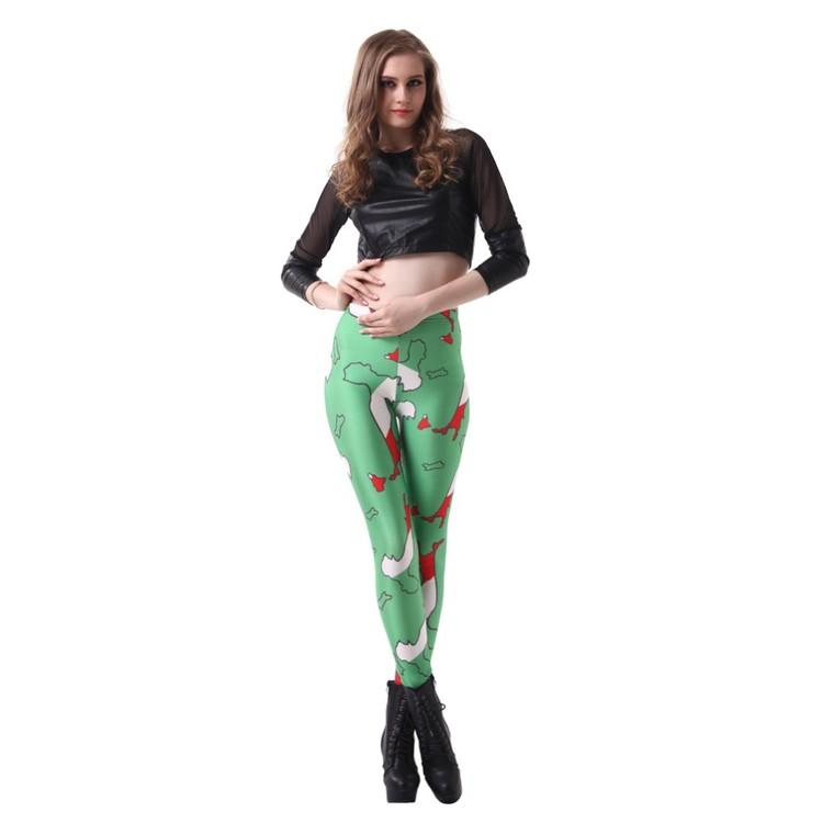 Gröna Italien Leggings