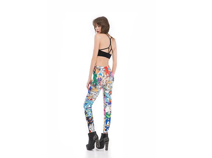 Hedgehog Tails and Friends Leggings
