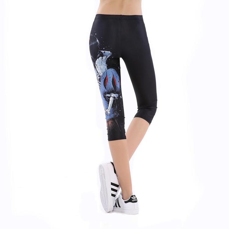 Skelett Prinsessan Capri Leggings
