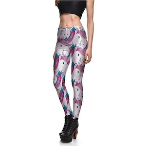 Söta Unicorn Leggings