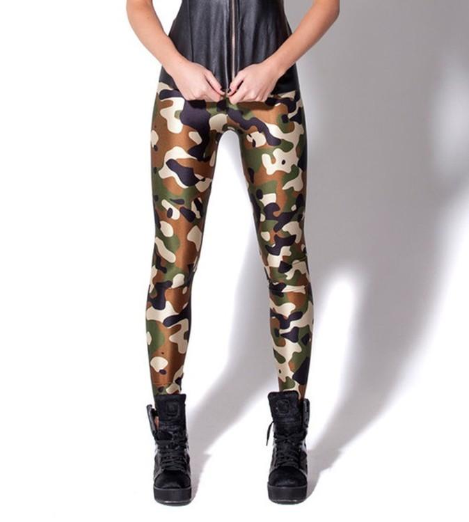 Arme Camouflage Leggings