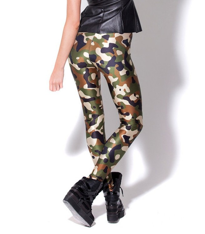 Arme Camouflage Leggings