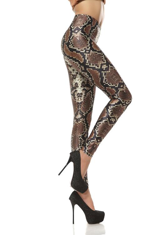 Orm Skinns mönstrade Leggings