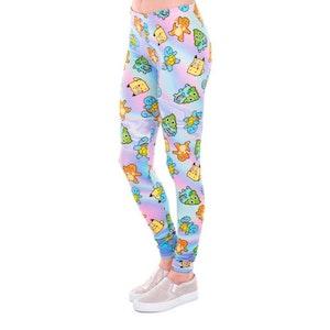 Färgglada Småfigurer Leggings