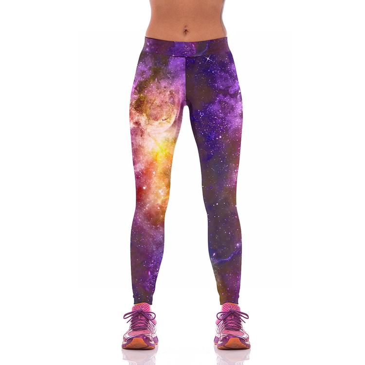 Rosa Universum Sport Galaxy Leggings