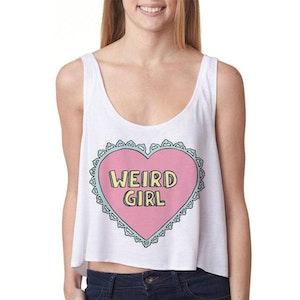 Weird Girl Crop Top