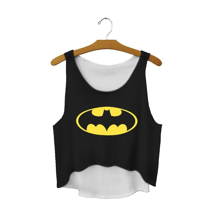 Batman Crop Topp