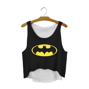Batman Crop Topp