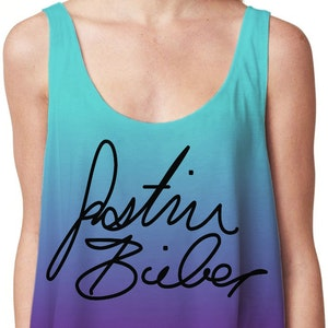 Justin Fanatic Crop Topp