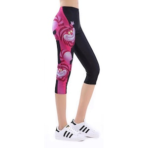 Mad Cat Capri Leggings