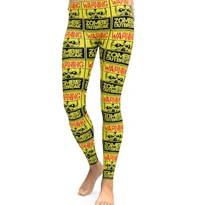 Varning  Zombie Outbreak Leggings