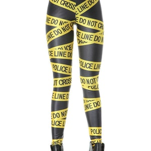 Gul Police Line Leggings