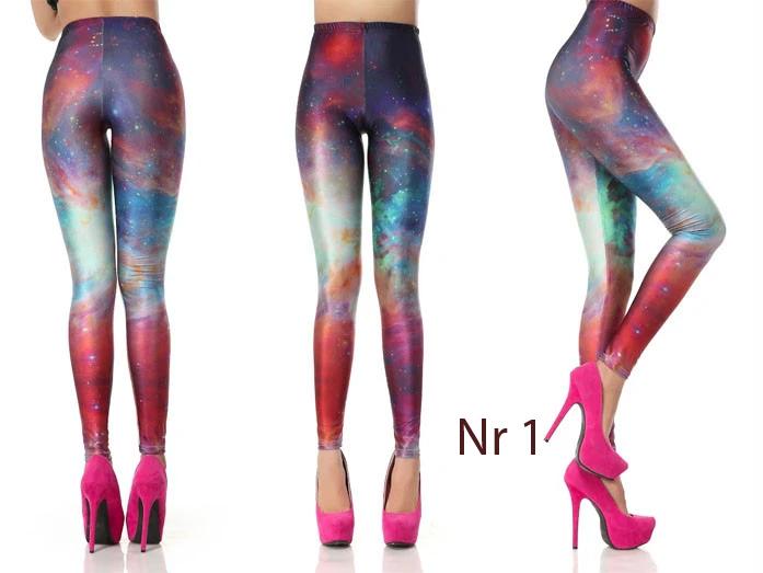 Galaxy Leggings i flera färger