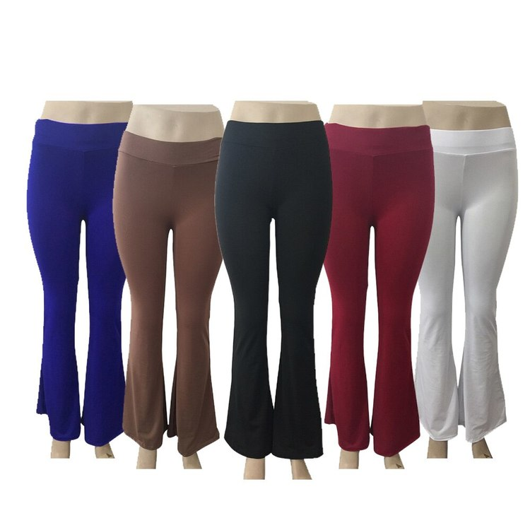 Leggings med vida ben 5 olika färger